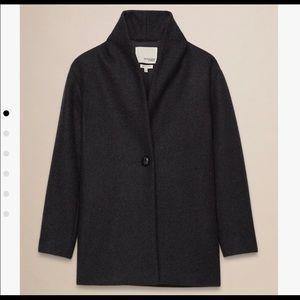 Aritzia Wilfred Free Danii grey coat, large